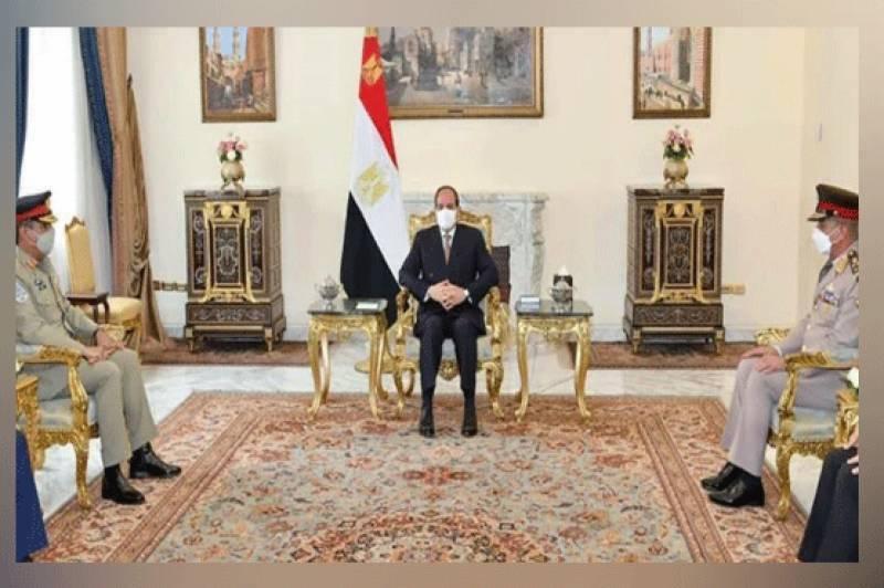 Pakistan keen to expand military, bilateral ties with Egypt: CJCSC Gen Nadeem Raza