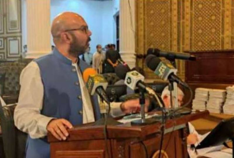 KP govt unveils FY 2021-22 budget with outlay of over Rs1,118 billion