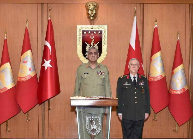 coas bajwa, military leadership, azerbaijan, baku, neo tv