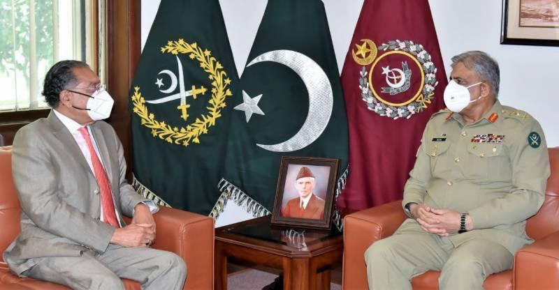COAS Gen Bajwa appreciates UN mission's efforts in service of Pakistan