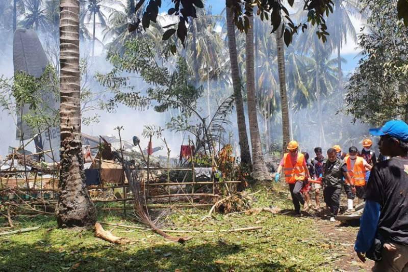 death toll, philippines, military, plane crash, neo tv
