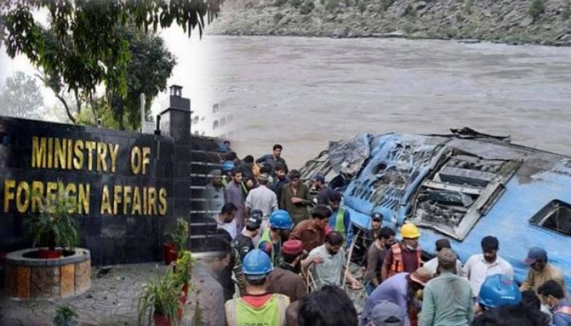 9 Chinese nationals, 3 Pakistanis killed as bus plunges into ravine in KP