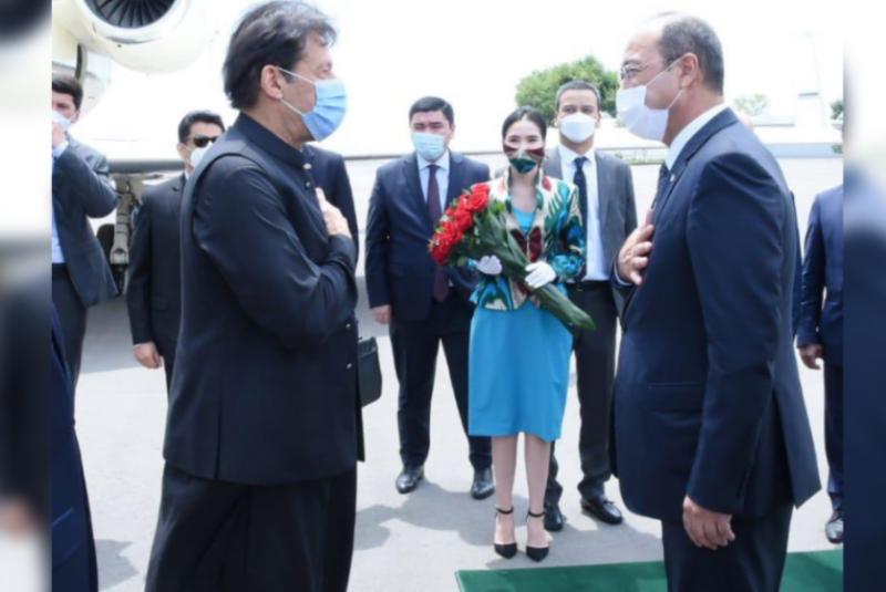 PM Imran in Tashkent on two-day official visit to Uzbekistan