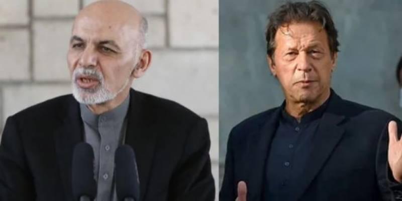 Blaming Pakistan for Afghanistan situation unfair, PM Imran tells Ashraf Ghani