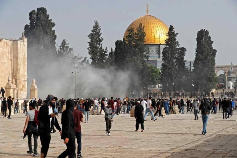 tensions, israeli, police, aqsa, worshippers, jewish, neo tv