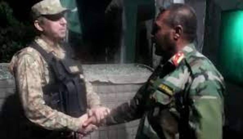 46 Afghan soldiers who took refuge in Pakistan returned to their country: ISPR