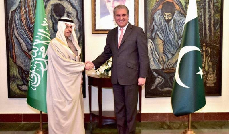 Saudi foreign minister arrives in Islamabad on day long visit