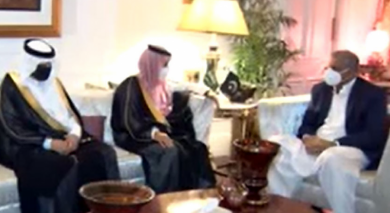 COAS Bajwa, Saudi FM discuss bilateral ties, Afghan peace process: ISPR
