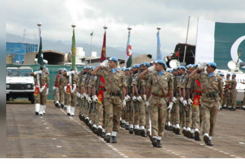 Pakistan Army organises multinational joint medal parade in DR Congo