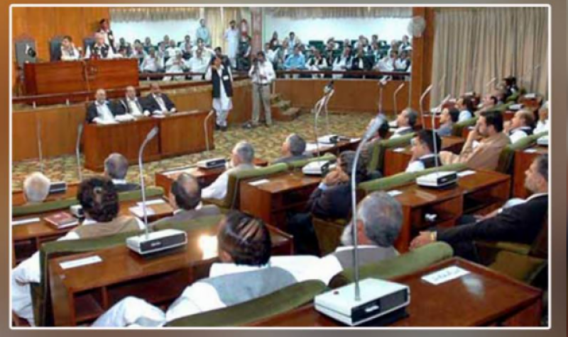 Newly-elected AJK legislative assembly members take oath