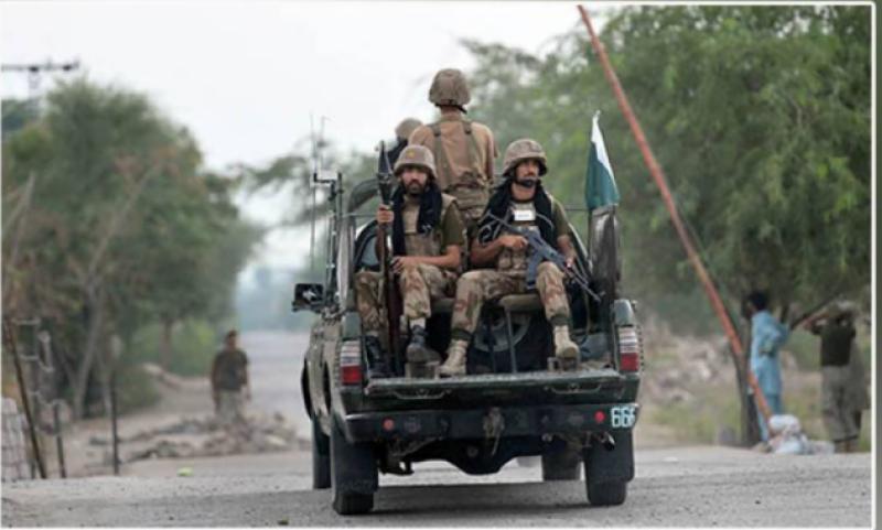 One FC personnel martyred, 2 injured in Balochistan terrorist attack: ISPR