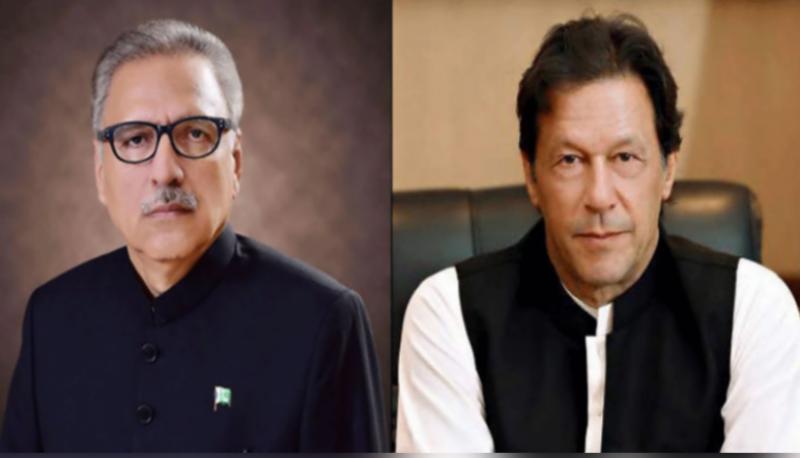 President Alvi, PM Imran felicitate nation on Independence Day