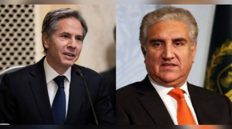 FM Qureshi, US secretary of state discuss Afghanistan's situation