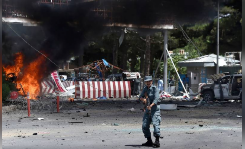 At least 13, including children killed in blast outside Kabul airport: Taliban official