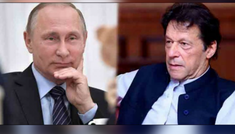 PM Imran, Russian President Putin discuss Afghanistan situation in phone call