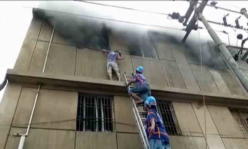 At least 17 workers killed in Karachi chemical factory fire