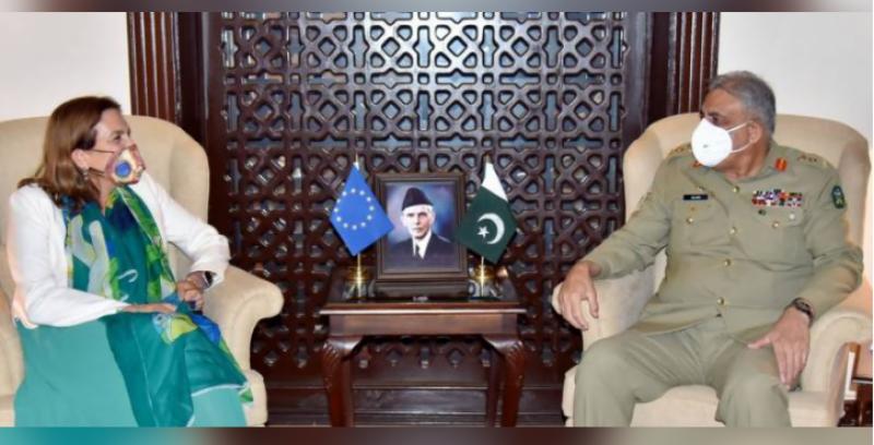EU ambassadors calls on COAS Bajwa, appreciates Pakistan's role in Afghanistan