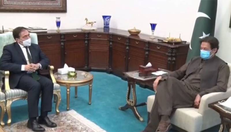 PM Imran calls for world's engagement for promoting peace in Afghanistan