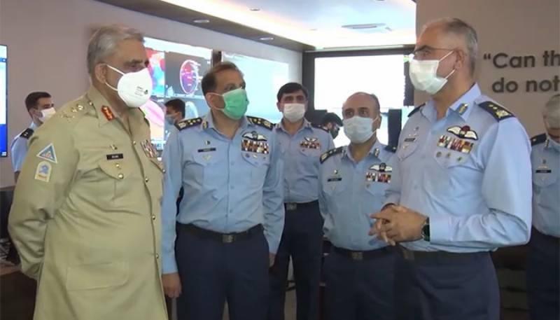 COAS Bajwa praises operational preparedness of PAF