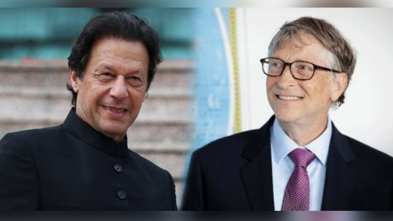 PM Imran, Bill Gates discuss polio eradication in Pakistan, Afghan health system