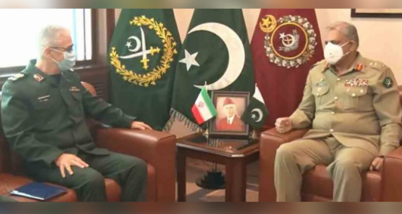 Pak-Iran cooperation vital for regional peace and stability: COAS Bajwa