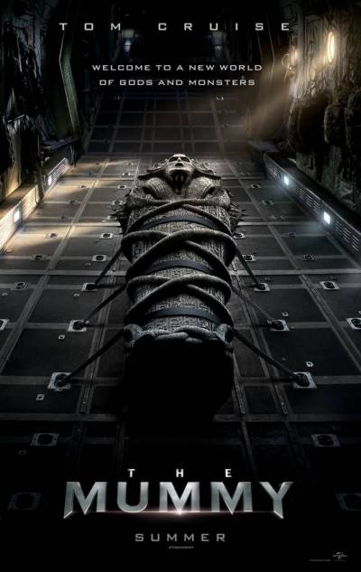 Heart-stopping glimpse of 'The Mummy reboot'
