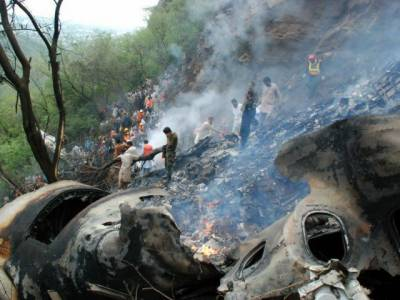 Bodies of PIA plane crash victims shifted to PIMS: ISPR