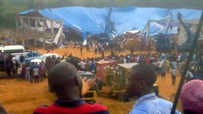 Over 60 killed as church rooftop collapsed in Nigeria