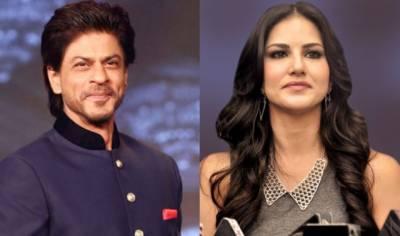 SRK, Sunny Leone have good Tweet time
