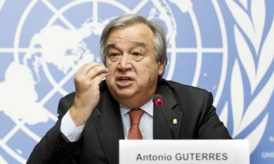 Former Portuguese PM Antonio Guterres sworn in as UN secretary general
