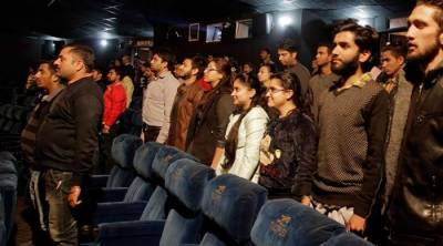 India apprehends 20 for not standing during national anthem