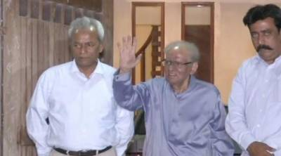 Sindh Governor Justice (r) Saeed-uz-Zaman Siddiqui discharged from hospital