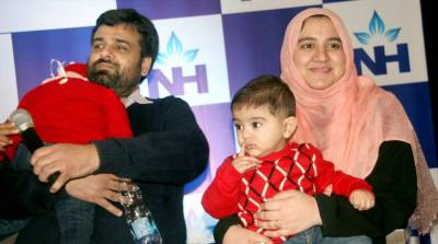 Eight-month-old Pakistani infant donates bone marrow to save his sister