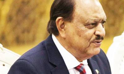No change in western route of CPEC: Mamnoon Hussain