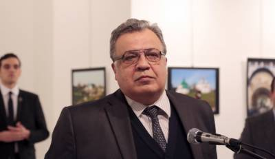 Russian Ambassador to Turkey shot dead at Ankara