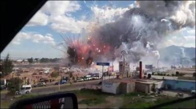 29 killed, over 70 injured in Mexican fireworks market explosion