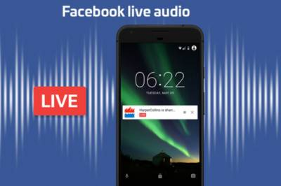 Facebook to add live audio streaming feature