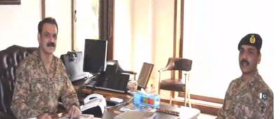 Gen. Asif Ghafoor assumes office of DG ISPR