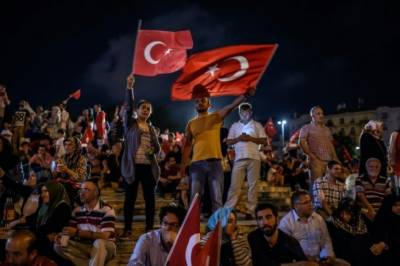 Turkish police officers in court for first coup trial