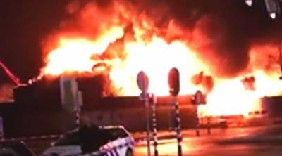 Arsonists set Islamic Center on fire in Netherland