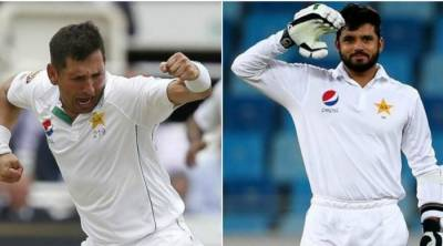 Dope test on Azhar Ali, Yasir Shah conducted