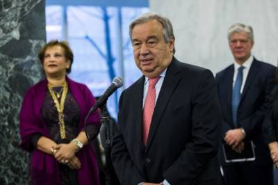 New UN chief says 'he's not a miracle maker'