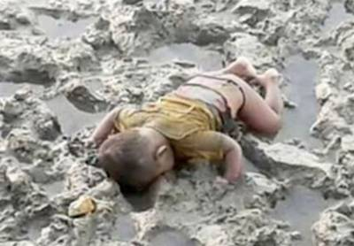 'Mohammad' another Alan Kurdi waiting for PARALYZED world to take action