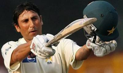 Records overstepped as Younis Khan hits a ton against Australia