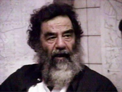 Saddam Hussein was