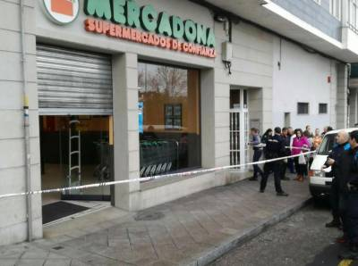 Armed man opens fire in Spanish supermarket