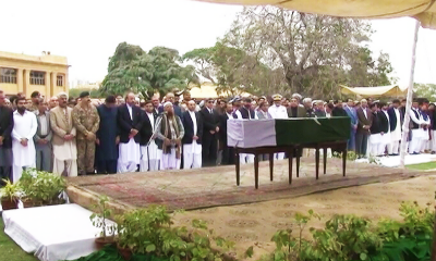 Saeed-uz-Zaman Sidduqi laid to rest in Karachi