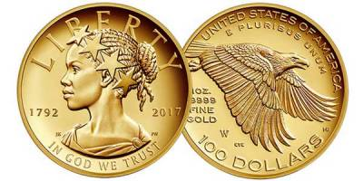 US coin to grace with Black Lady Liberty