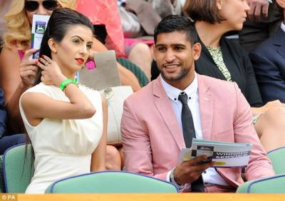 Boxer Amir Khan in trouble after sex tape on porn website