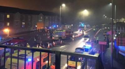 Flats evacuated following London blast